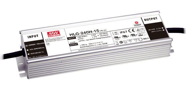 Zasilacz Mean Well  HLG-240H-12A IP67