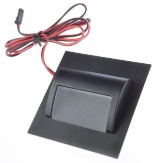 Oprawa schodowa LED 1,2W Pro Vero Secreto 12V grafit b. zimna
