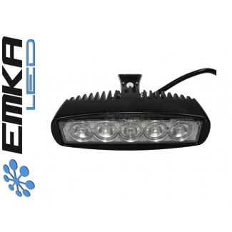 Reflektor Power LED  Lampa prostokąt 5*3W IP68 OFFROAD