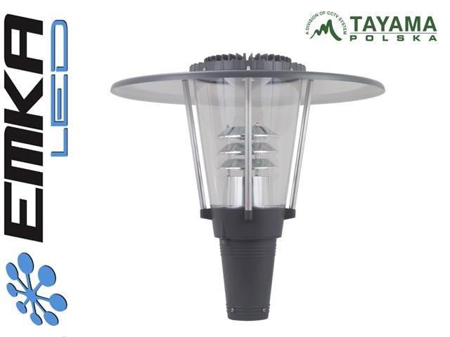 Lampa Parkowa Led 40w Umbrella 230v Biała Neutralna