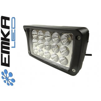 Reflektor Power LED Lampa prostokąt 15*3W IP68 OFFROAD