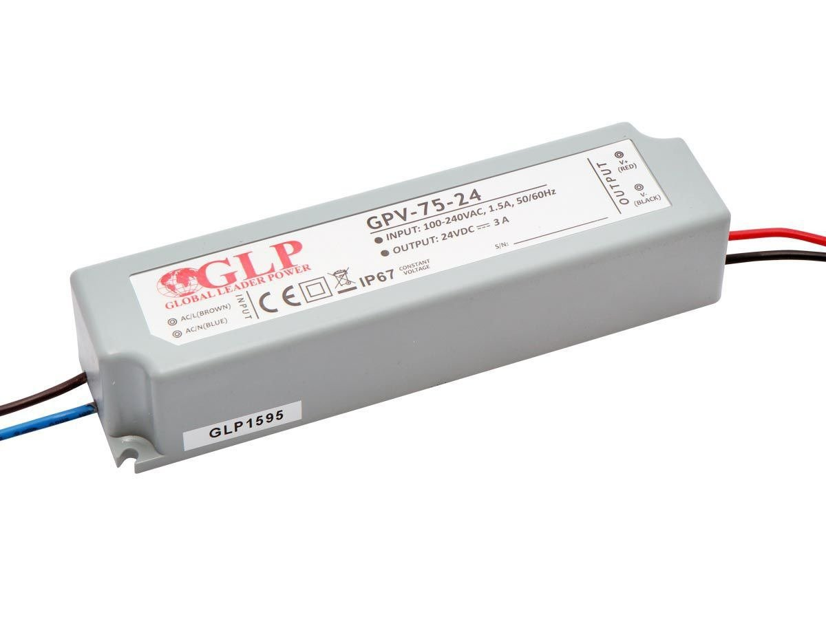Zasilacz LED GPV-75-24 3A 72W 24V, IP67