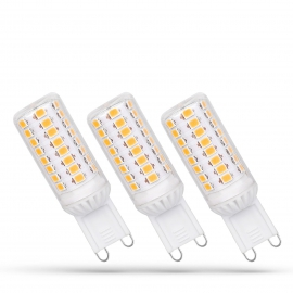 LED G9 230V 4W CW DIMMABLE SMD 5 LAT PREMIUMSPECTRUM 3-PACK