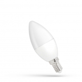 LED ŚWIECOWA  E-14 230V 6W CW DIMMABLE SPECTRUM