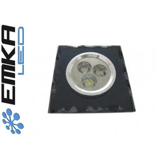 Downlight LED Power AI Black 3 x 1W biały ciepły