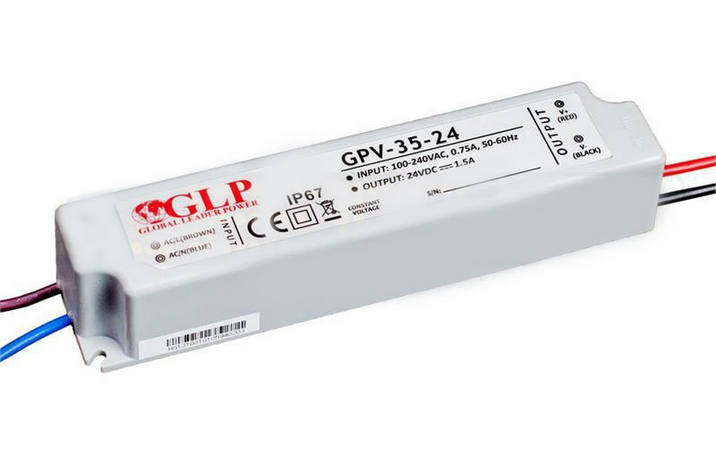 Zasilacz LED GPV-35-24 1,5A 36W 24V, IP67